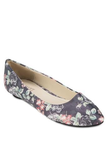 Lesprit門市ara 碎花平底鞋, 女鞋, 芭蕾平底鞋