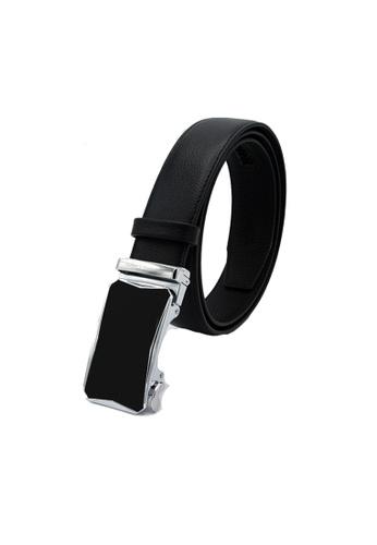 EXTREME black Extreme Genuine Leather Auto Belt 69BF5ACC7AB759GS_1