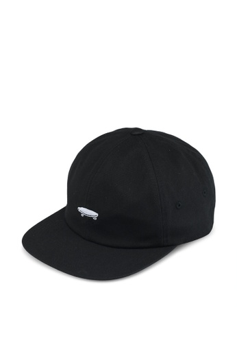 VANS black Salton II Cap VA142AC0SWMJMY_1
