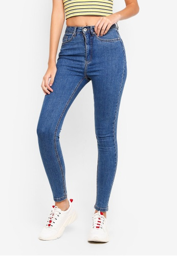 Factorie blue The High Rise Skinny Jeans 65A5BAAB33E702GS_1