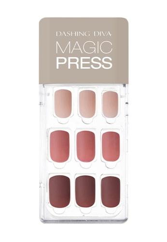 Dashing Diva red Dashing Diva 1 SEC. MAGIC PRESS Manicure Becoming Rose/ Press on Nails /Nail Tips 84616BE6D98A0BGS_1