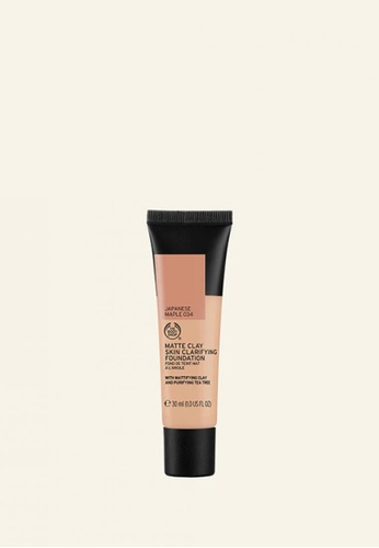 The Body Shop Matte Clay Skin Clarifying Foundation 034 Japanese Maple 2307FBE36A1751GS_1