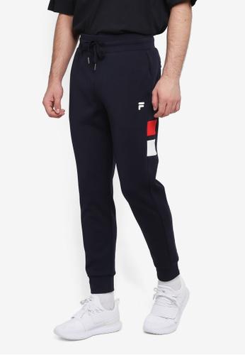 FILA blue Orginale Knit Pant 8187BAA6E05B25GS_1