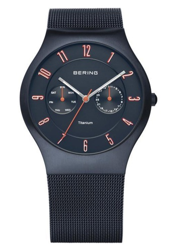 Bering blue Classic 11939-393 Blue 39 mm Men's Watch B836FACFCE3E9DGS_1