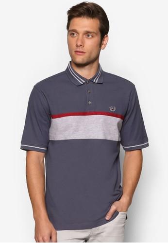 撞色條紋POesprit hong kongLO 衫, 服飾, Polo衫