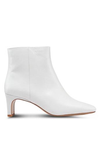 Mango 白色 高跟踝靴 9EED7SHB768576GS_1