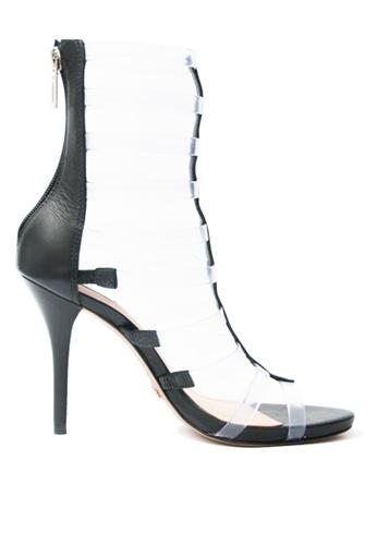 Covet black Schutz Natalia Heeled Sandals CO331SH38HBXPH_1