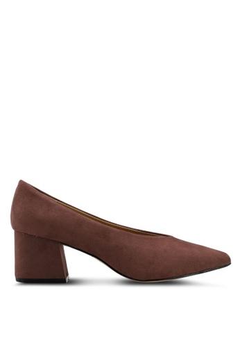 Vero Moda brown Natalie Pump Heels 78C45SH2A87CF9GS_1