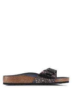 603c0f6165d34f Birkenstock black Madrid Sandals 7DA50SH6B5B83FGS 1