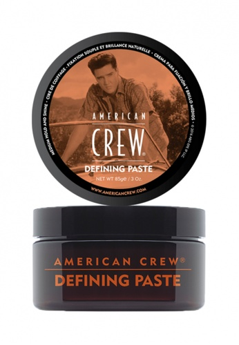 American Crew orange and brown American Crew_Defining Paste (85g) AM098BE54FKNMY_1