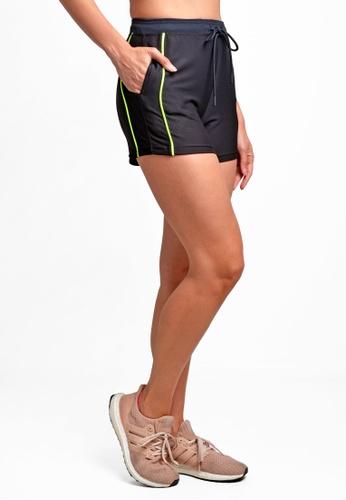 ViQ ViQ Ladies Training Shorts 8BB60AAEA4D469GS_1
