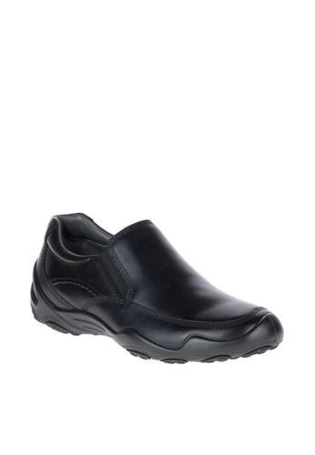 Hush Puppies black Tedd Uro Traveller Waterproof Casual Shoes B7064SH719265CGS_1