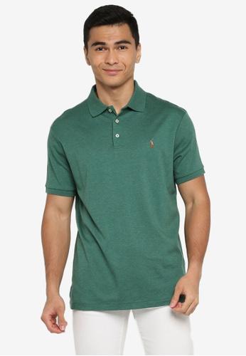 Polo Ralph Lauren green Short Sleeve Knit Polo Shirt 8614FAAC6EC4F2GS_1