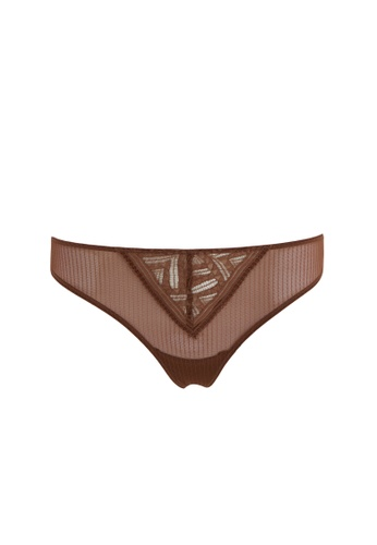 DeFacto brown Woman Underwear Slip 0F7EBUSE6430A6GS_1