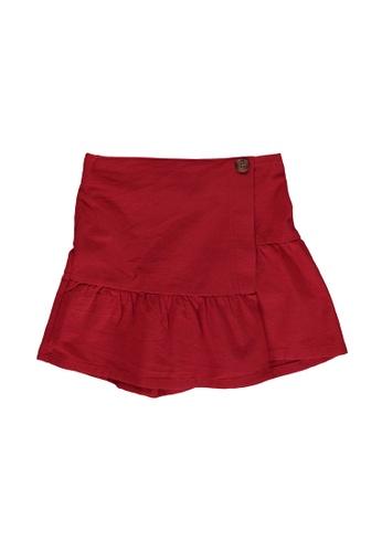 LC Waikiki red Solid Shorts 2BA02KABB83AEDGS_1