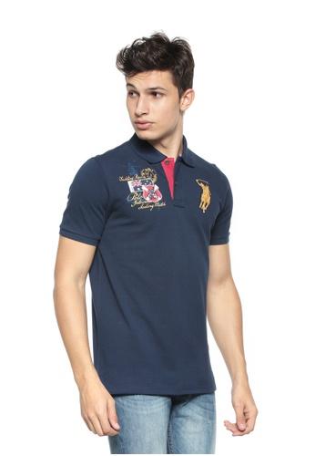 POLO HAUS blue Polo Haus - Polo Tee (Navy) PO783AA86FGJMY_1