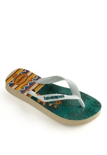 Havaianas grey Lion King Flip Flops 21BC8SH6CBCC8AGS_1