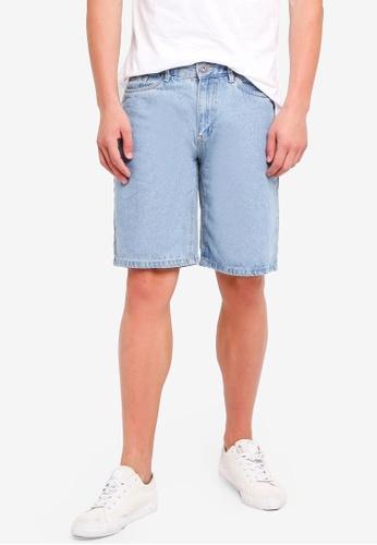 Factorie 藍色 Wide Leg Denim Shorts 0E157AAAE43B99GS_1