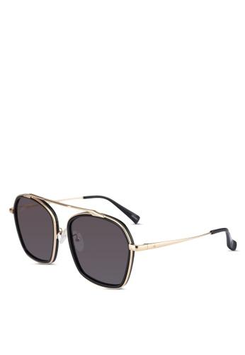 BLANC & ECLARE black Vancouver Sunglasses 14971GL49A5EA3GS_1