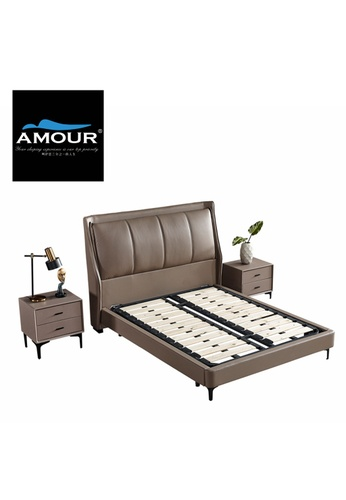 AMOUR Amour brand essential PU leather bed 50D34HLAB1663CGS_1