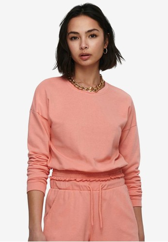 ONLY pink Cropped Sweater 67FB8AA727A4DDGS_1