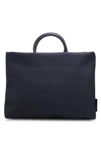Bagstationz navy Lightweight Nylon 15.6 Inch Laptop Bag 93EEBAC375AC52GS_1