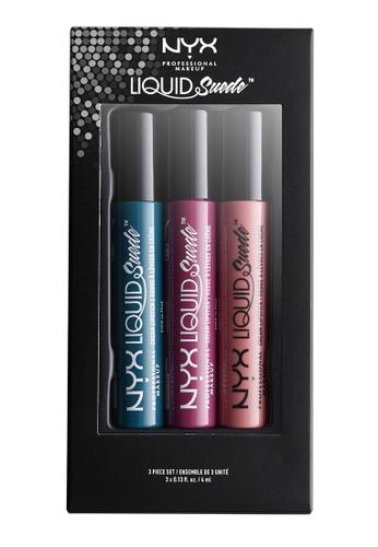 NYX Professional MakeUp multi NYX PROFESSIONAL MAKEUP Liquid Suede Cream Lipstick - Set 9 NY716BE0S6EOMY_1