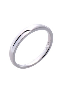 Simple Silver Ring for Men lr0044m