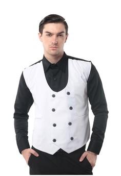 Image of Crows Denim - Vest Pria Desain Exclusive Style Gilets