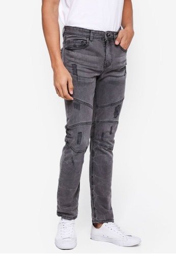 Cotton On grey Slim Fit Jeans 5C8E5AA35173D9GS_1
