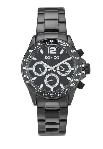 SO&CO black Monticello Watch 5001 9CF6CACE8E25E8GS_1