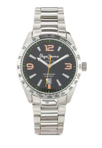 R23531esprit outlet hong kong19003 Joshua 撞色數字不銹鋼男錶, 錶類, 飾品配件