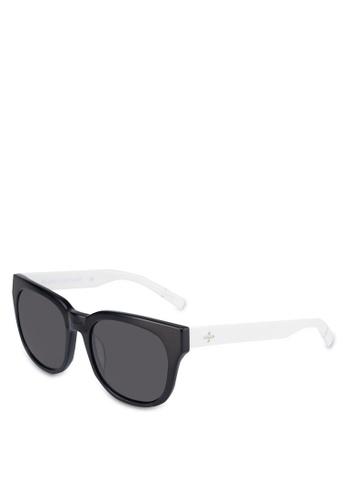 BLANC & ECLARE black Seoul Sunglasses 89293GLD3BFC03GS_1