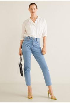 f487f199a834 Mango Slim-Fit New Mom Jeans RM 177.90. Sizes 34 38 42 44