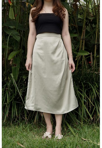 Avore green Aine Skirt 11E12AA8480F07GS_1