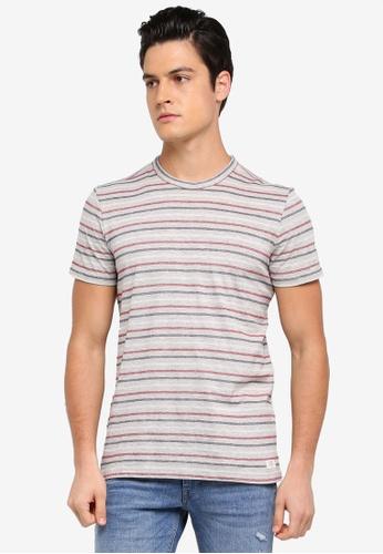 ESPRIT grey Short Sleeve T-Shirt 5834BAAC1453A4GS_1