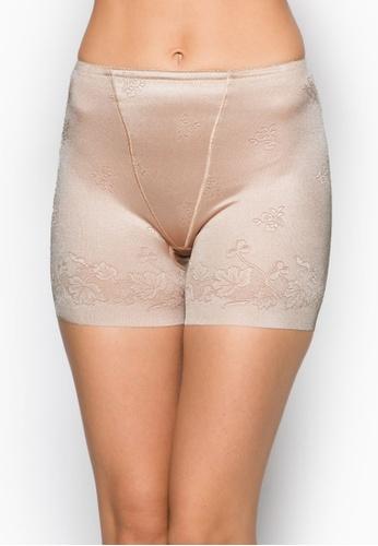 Impression beige Seamless Femme Long-Legged Girdle IM021AA53HESSG_1
