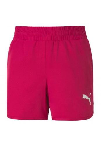 PUMA pink Active Girls' Shorts F42F9KA0475507GS_1