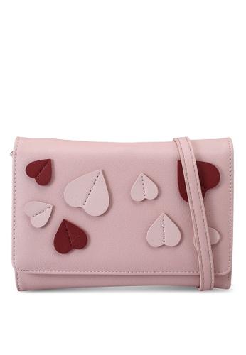 Milliot & Co. pink Adora Sling Bag 2C2A2AC0428331GS_1