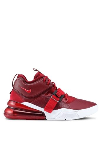 Nike white and red Men's Nike Air Force 270 Shoes 611B5SH111EF01GS_1