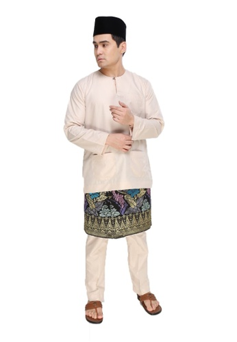 Amar Amran silver Baju Melayu Teluk Belanga 2AF3CAA7371586GS_1