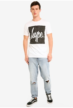 770ec2ead3 31% OFF Just Hype Speckle Square T-Shirt RM 151.00 NOW RM 104.90 Sizes M L  XL