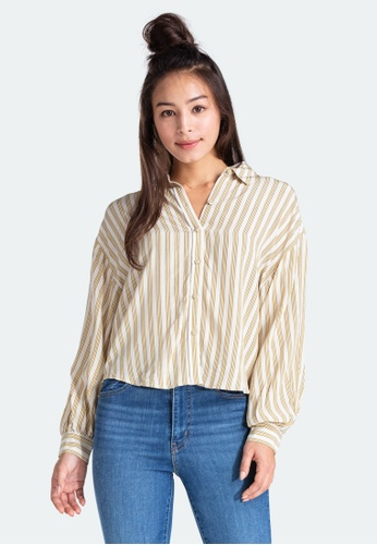 Levi's brown Levi's Margot Top Women 85382-0000 51D28AA538647BGS_1