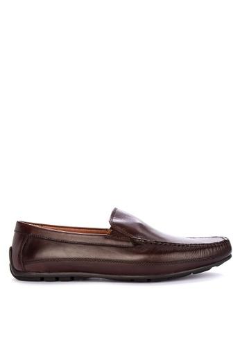 FLORSHEIM brown Marley Loafers 1C951SHA5DA368GS_1