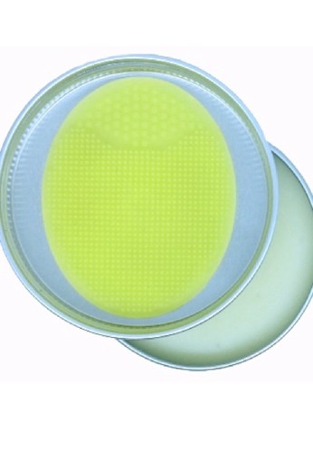 Kora yellow KORA Brush Soap 2in1 Include Pad for cleaning your Makeup Brushes and Sponge deeply B0D0CBE764AAF7GS_1
