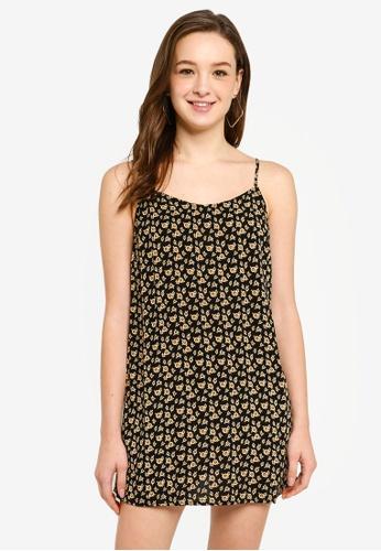3b36569c849 Sunflower Print Mini Dress