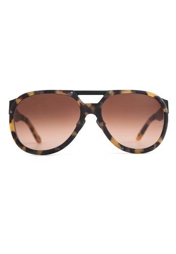 Marshall Eyewear brown Liam Matte Turtle MA266AC64OWPSG_1