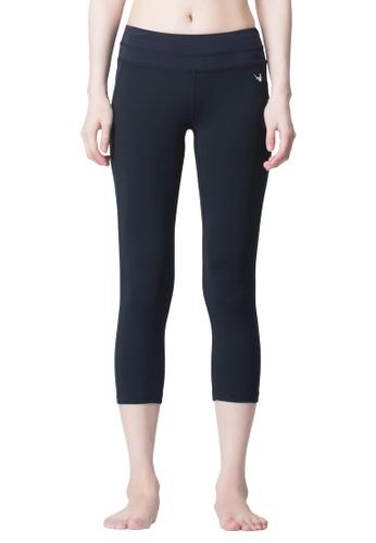 機能性髖骨固定六分褲, esprit香港門市服飾, 內搭褲