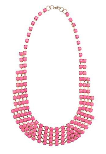 Acrylic Cuesprit官網p Chain Necklace, 韓系時尚, 梳妝
