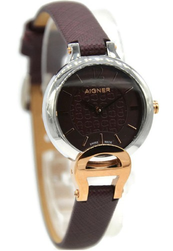 Aigner silver and brown Aigner A24258A Pesaro Jam Tangan Wanita Leather  Strap Coklat Ring Silver AI473AC89CFYID 1 df4178dcae